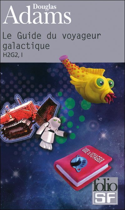 Le Guide du Routard Galactique de Douglas Adams