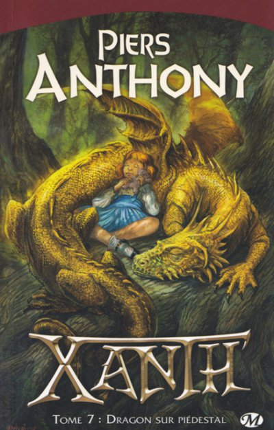 Dragon sur piédestal de Piers Anthony