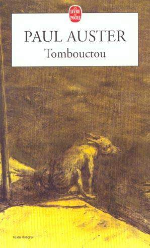 Tombouctou de Paul Auster