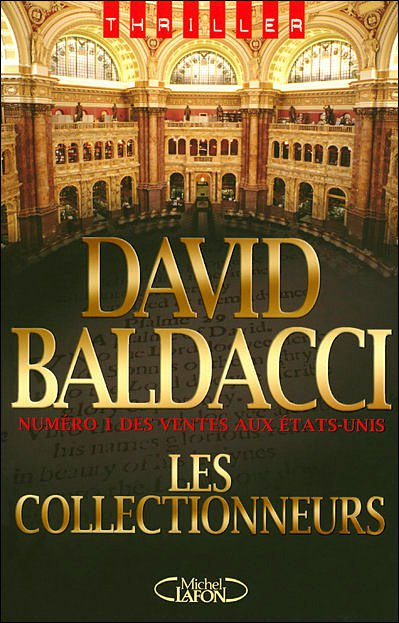 Les collectionneurs de David Baldacci