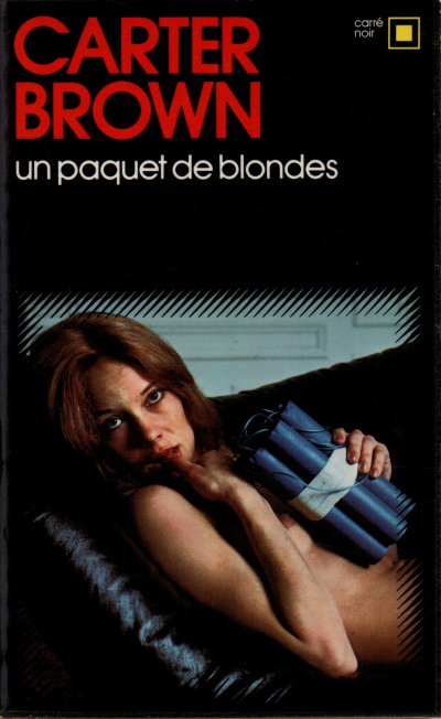 Un paquet de blondes de Carter Brown