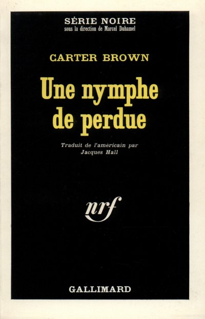 Une nymphe de perdue de Carter Brown