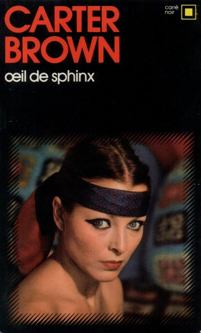 Oeil de sphinx de Carter Brown