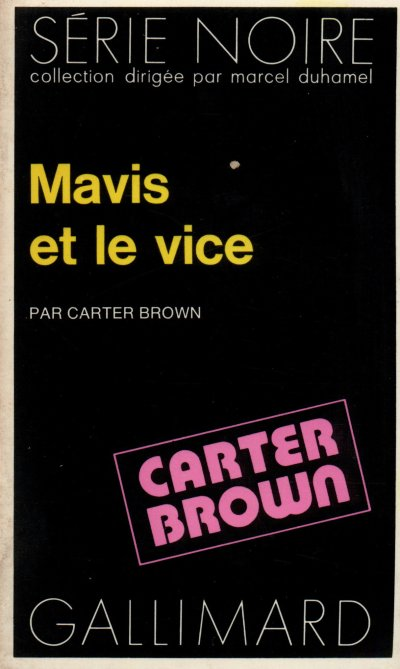 Mavis et le vice de Carter Brown