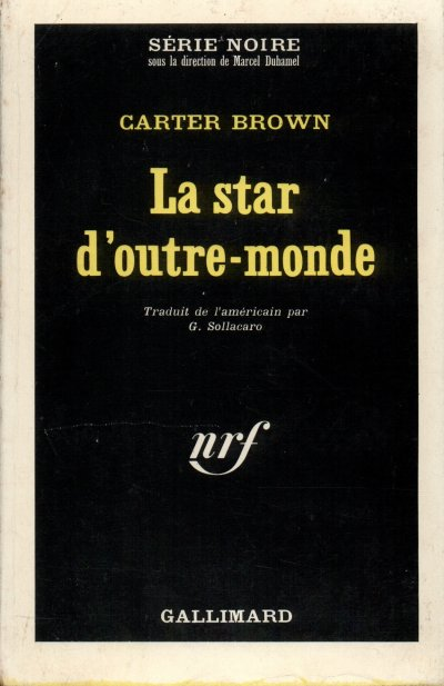 La star d'outre-monde de Carter Brown