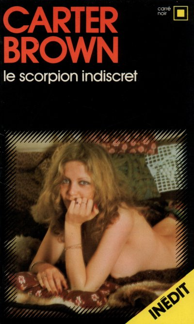 Le scorpion indiscret de Carter Brown
