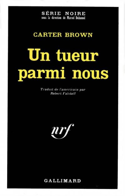 Un tueur parmi nous de Carter Brown
