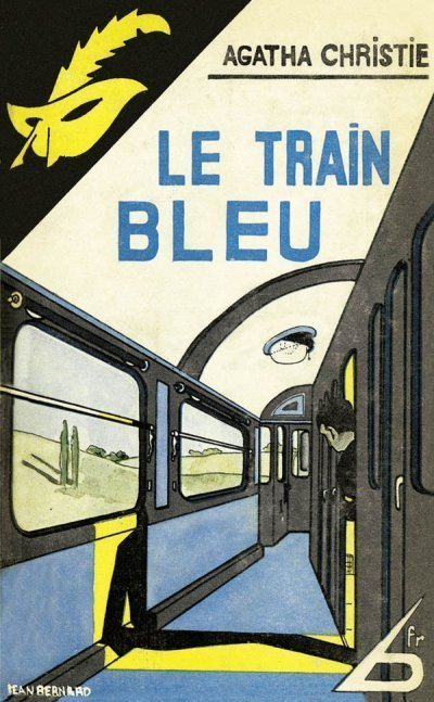 Le train bleu de Agatha Christie