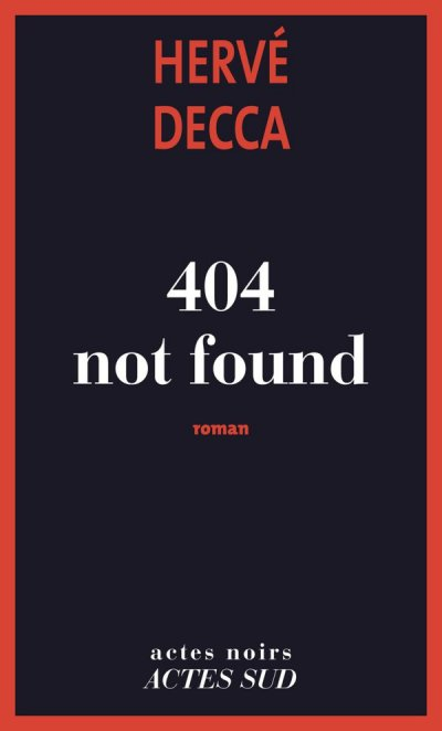 404 not found de Hervé Decca