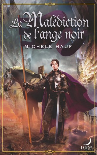 La malédiction de l'ange noir de Michele Hauf