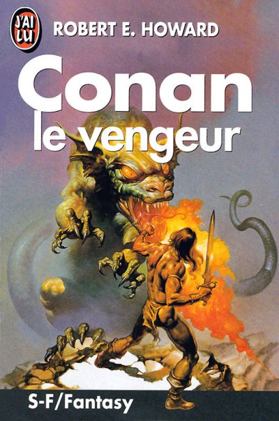 Conan le vengeur de Robert E. Howard