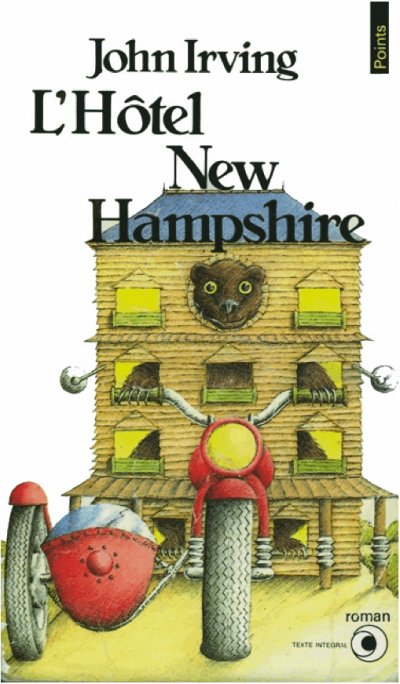 L'Hôtel New Hampshire de John Irving