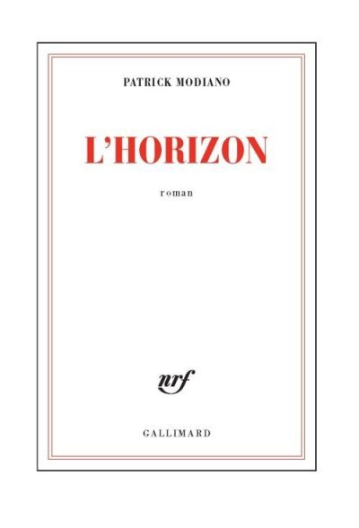 L'horizon de Patrick Modiano