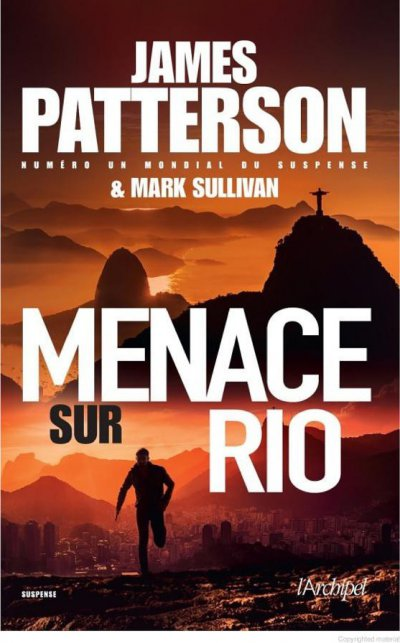 Menace sur Rio de James Patterson