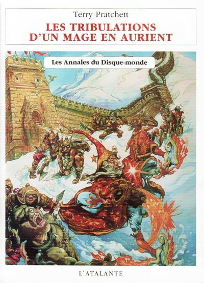 Les tribulations d'un mage en Aurient de Terry Pratchett
