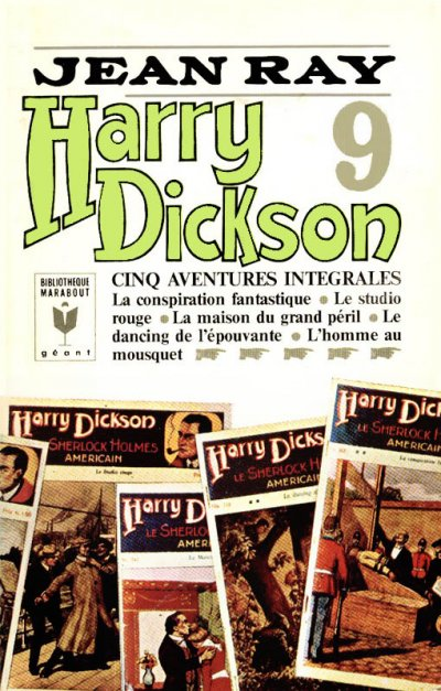 Harry Dickson (p.9) de Jean Ray