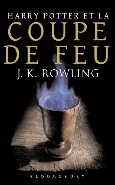 Harry Potter et la coupe de feu de J.K. Rowling
